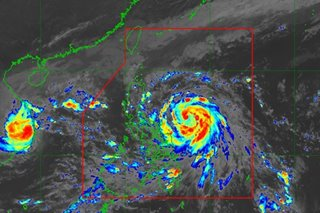 Storm signal no. 2 up in Bicol areas as 'Ulysses' intensifies further