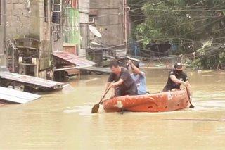 TINGNAN: Baha sa Bagong Silangan sa QC matapos ang 'Ulysses'