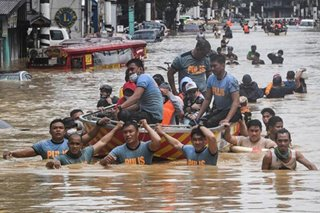 Rescue mission in Marikina