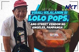VIRAL: Alamin ang kuwento ng street vendor na si 'Lolo Pops' na nagtitinda ng lollipop sa kalsada sa gitna ng pandemya