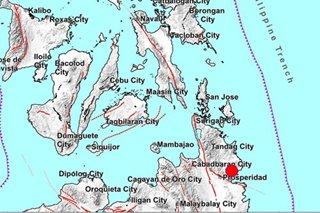 Magnitude 6 quake jolts Surigao del Sur