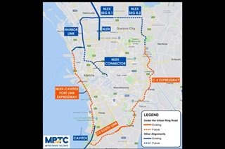 Metro Pacific Tollways building 'urban ring road' linking north, south, east, west of Metro Manila