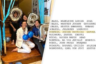 'Doctor na si Tricia!': Robredo celebrates daughter passing physicians' exams