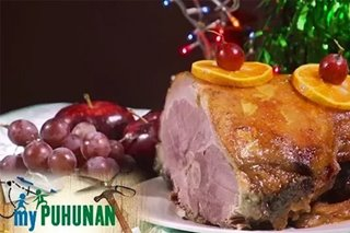 THROWBACK: Syyap's homemade Christmas ham recipe