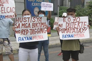 Security officials na pasimuno umano ng red-tagging inireklamo sa Ombudsman