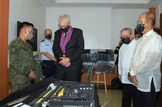PH receives P1.38-B worth of defense equipment from US