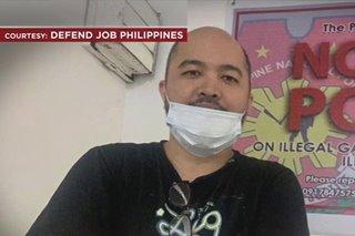 Filipino trade union organizer arrested on International Human Rights Day