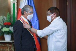 Duterte lauds outgoing South Korea envoy
