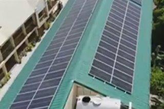 Imus nagsimula nang lagyan ng solar panels ang mga paaralan