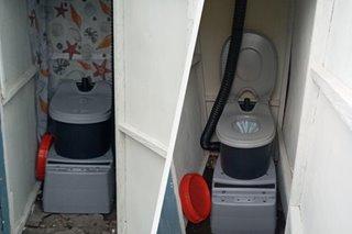 Para may dignidad: Ilang pamilya sa Maynila nakatanggap ng portable toilets