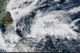 Tropical Depression Vicky lumbers towards Davao Oriental-Surigao del Sur area