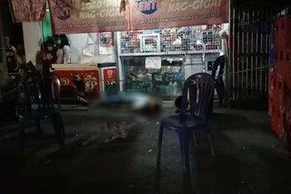 Pulis na bumibili ng ice cream patay matapos barilin sa Ormoc City
