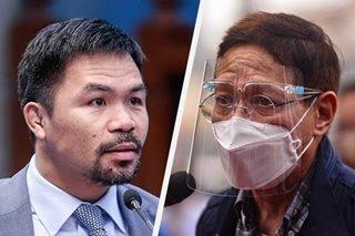 Pacquiao nanawagan kay Duterte na palitan na si Duque