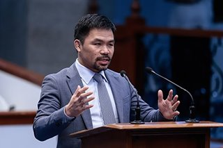 Death penalty may be 'fastest' way to serve justice for heinous crime victims: Pacquiao