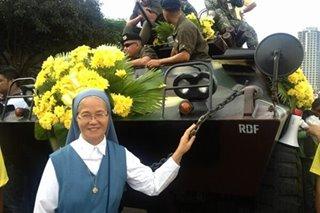 'Sundalo ni Kristo': Praying nun in iconic People Power photo dies at 63