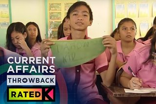 THROWBACK: Merry-galo kay viral na estudyante | Rated K