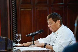 Has Duterte received COVID-19 vaccine?