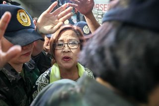 De Lima moves to junk 1 of 3 drug cases citing insufficient evidence