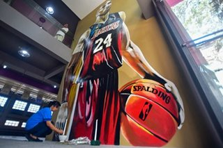 Filipino fans, businesses pay tribute to NBA legend Kobe Bryant