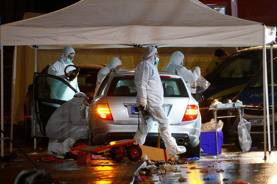 Investigators seek motive after car rammed into German carnival parade 1