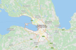 One dead in fire at Saint Petersburg hospital