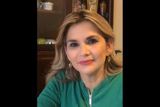 Bolivia's interim president Anez says she has coronavirus