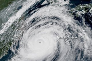 Japan on alert as 2 powerful typhoons approach