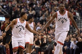 NBA: Raptors continue home dominance over Cavs
