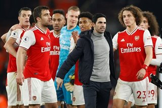 Football: Arteta earns first win as Arsenal sink Man Utd