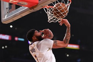 NBA: Lakers jump all over Suns, then hang on for win