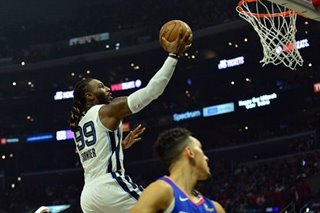 NBA: Lowly Grizzlies humble lackuster Clippers