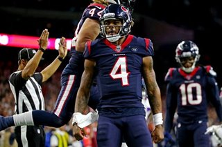 NFL: Texans pull out wild card playoff win over Bills in overtime