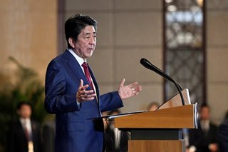 Japan's Abe 'deeply worried' by Middle East tensions