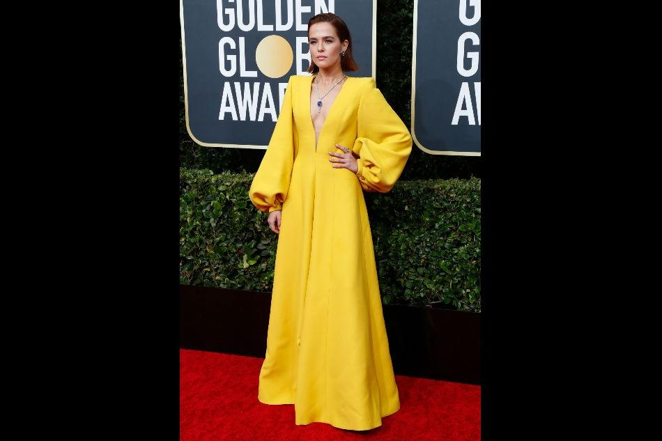 Hollywood stars shine on Golden Globes red carpet 15