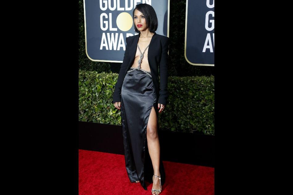 Hollywood stars shine on Golden Globes red carpet 3
