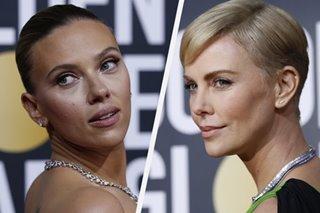 Hollywood stars shine on Golden Globes red carpet