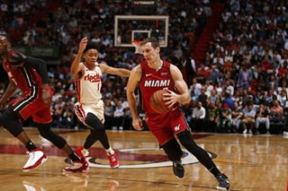 NBA: Dragic shines as Heat down Blazers