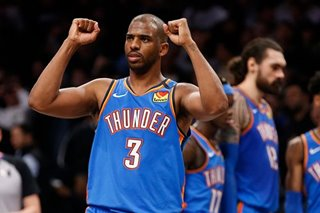 NBA: Thunder PG Paul won't waive $44.2M option for trade - report