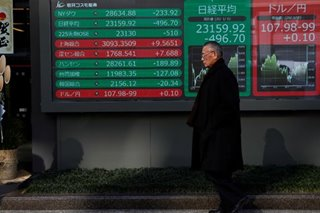 Asian shares slump; gold, oil soar after Iran strike on US forces