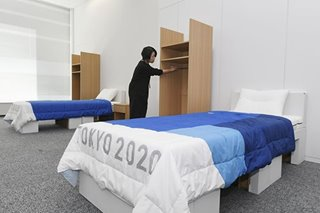 Olympics: Tokyo 2020 takes 'out-of-the-box' approach with cardboard beds