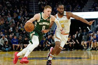 NBA: Bucks eke by Warriors despite poor shooting