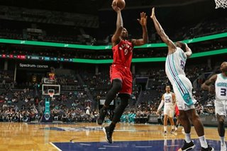 NBA: Ibaka's free throws lift Raptors over Hornets in OT