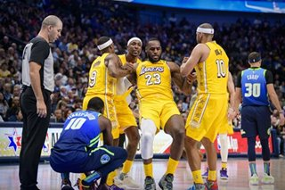 NBA: Lakers, without Davis, roll over Mavs