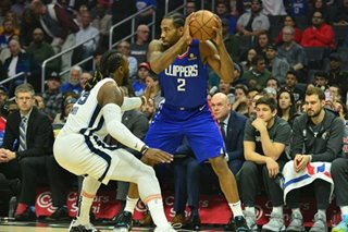 NBA: Kawhi, Clippers taking long approach to title pursuit