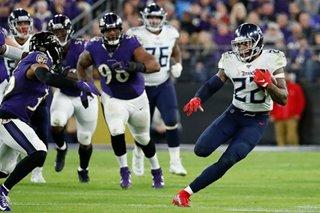 NFL: Titans harass Jackson, stun Ravens in divisional playoffs