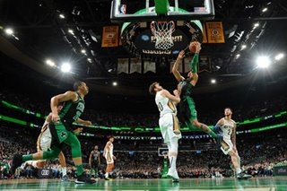 NBA: Tatum hits career-high 41 as Celtics stomp Pelicans