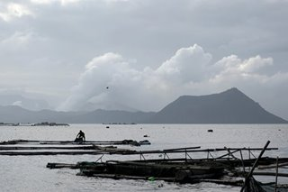 Taal volcano shows signs of calming, but danger remains