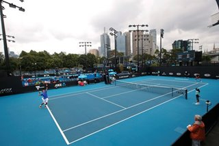 Tennis: Clearer weather allows Australian Open qualifying to start on time