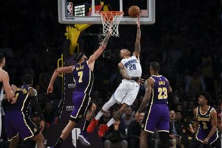 NBA: Fultz's triple-double powers Magic's upset of Lakers