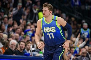 NBA: Mavs sink Kings behind Doncic's triple-double